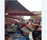 امسك مخالفة| «سوق الأحد» لا يخاف الكورونا