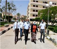 المدينة الجامعية بقناة السويس جاهزة لاستقبال المصريين العائدين من الخارج