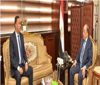 محافظ الدقهلية المصاب بكورونا التقى وزير التنمية المحلية منذ 5 أيام