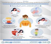 التضامن: تطبيق بروتوكول الصحة العامة والنظافة داخل دور الرعاية