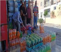 حملة موسعة لمراقبة السلع والمواد الغذائية في الأسواق بالعريش
