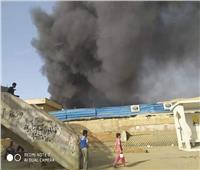 صور وفيديو| تكدسات مرورية بطريق «الأوتوستراد» بسبب حريق مخازن سيراميك في المقطم