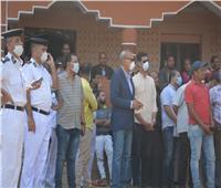 محافظ القليوبية يشهد إزالة 7 مباني مخالفة بكفر الشرفا بشبين القناطر