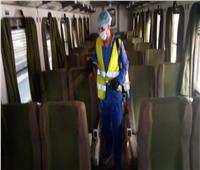 صور  «السكة الحديد»: تواصل تعقيم القطارات وندوات التوعية لمكافحة كورونا