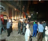 صور  حملة مكبرة ضد البناء المخالف بالإسكندرية وإزالة ٥٣ دورا  بـ١٩عقارا