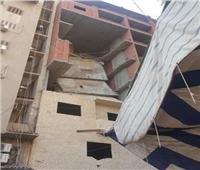 حملة إزالة برج مخالف في المحلة تتسبب في فزع المواطنين وتنذر بكارثة
