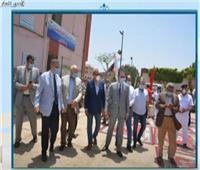 فيديو  جاهزية المدن الجامعية ببنها لإستقبال المصريين الوافدين من الإمارات