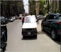 سيارات تجوب الجيزة للتوعية بارتداء الكمامات وطرق الوقاية من «كورونا»