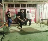 حملة ليلية للتأكد من الالتزام بقرارات مجلس الوزراء لمنع التكدسات بشبرا الخيمة