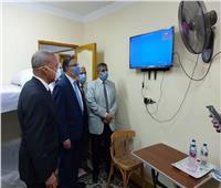 محافظ القليوبية يستقبل في جامعة بنها 262 مصريا عائدين من الإمارات