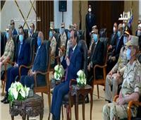 فيديو| الرئيس السيسي يقدم التحية للأطقم الطبية على جهودهم في مواجهة جائحة كورونا