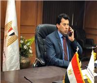 وزير الرياضة: «نضع إمكانياتنا لدعم أهالينا في محافظة شمال سيناء»