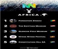 حصول المتحف المصري بالتحرير على لقب الأكثر تأثيرا في قارة إفريقيا