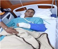 صور| محمد سمير يخضع لعملية جراحية.. ونجم الأهلي يشكر إدارة طلائع الجيش