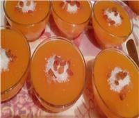 حلويات رمضان| طريقة عمل «مهلبية البرتقال والجزر».. بطعم شهي ولذيذ
