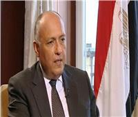 وزير الخارجية يبحث علاقات التعاون والقضايا المشتركة مع الممثل الأعلى للشئون الخارجية
