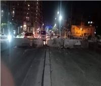 غلق مداخل ومخارج الكورنيش والقناطر الخيرية أمام الجمهور والسيارات بالقليوبية