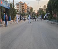 تواجد أمني في محيط مسجد السيدة نفيسة ومنع مرور المواطنين