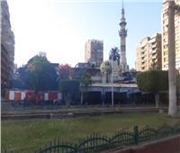 تواجد أمنى مكثف بمحيط مسجد مصطفى محمود