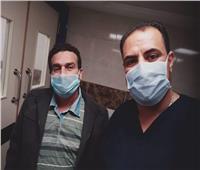 شفاء المسعف خالد عبدالعظيم من فيروس كورونا