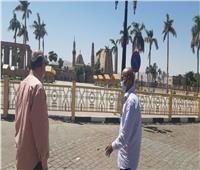 رفع 20 طن مخلفات في حملة مكبرة بالأقصر ثاني أيام العيد