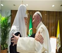 البابا فرنسيس يوجة رسالة لتعزيز وحدة المسيحيين