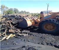 إزالة 995 حالة تعدٍ ومخالفة على الأراضى الزراعية