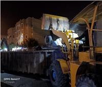 استغلال الحظر في النظافة والتطهير ورفع القمامة بمدينة ٦ أكتوبر