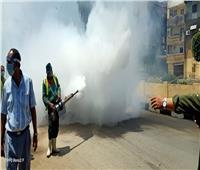 أحياء القاهرة تشن حملات لتعقيم الشوارع خلال عيد الفطر