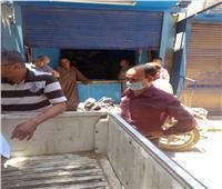 مركز ملوي بالمنيا يواصل الحملات التموينية لمراقبة الأسواق خلال أيام عيد الفطر