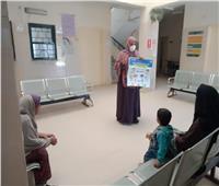 «قومي المرأة» يواصل توعية الأهالي حول الوقاية من كورونا بالمحافظات