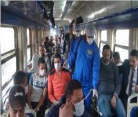 خاص| رئيس السكة الحديد: ممنوع ركوب القطارات بعد العيد بدون الكمامة