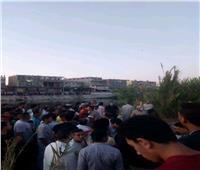 مصرع شخصين بانقلاب سيارة في ترعة المحمودية بدمنهور