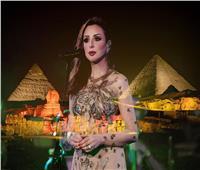 أنغام بعد حفل الأهرامات: «ليلة من العمر.. تحيا مصر»