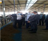 وزير الزراعة يصل النوبارية لتفقد المشروعات الإنتاجية