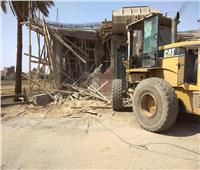 إزالة 38 حالة تعد على الأراضي الزراعية بسوهاج خلال العيد