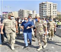 السيسى يتفقد الأعمال الإنشائية لتطوير عدد من الطرق والمحاور والكباري بمنطقة شرق القاهرة