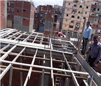 حملات مكثفة بالإسكندرية لإزالة البناء المخالف والتعديات على أملاك الدولة