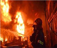 حريق هائل بمخزن للكرتون بمنطقة بلبيس الصناعية.. ولا إصابات