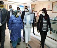 وزيرة الصحة تراجع مخزون الأدوية والمستلزمات وتوجه بزيادتهم ليكفي فترات طويلة