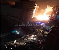 رغم الحظر.. مئات المواطنين في منطقة حريق خط غاز المطرية