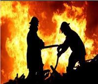 النيابة تعاين موقع حريق ماسورة غاز في الزيتون