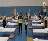فيديو| لمواجهة كورونا.. دولة عربية تبني مستشفى ميداني في ٣ أيام