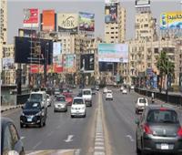 سيولة مرورية في طرق القاهرة والجيزة وسط تواجد أمني بالشوارع