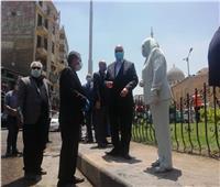محافظ القاهرة يشرف على حملة نظافة في السيدة زينب