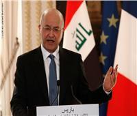 الرئيس العراقي يؤكد ضرورة انتهاج بلاده سياسة متوازنة تستند لاحترام السيادة العراقية