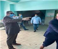 وزير القوى العاملة يتابع إجراءات التعقيم والتطهير وتوزيع كمامات لوقاية العاملين