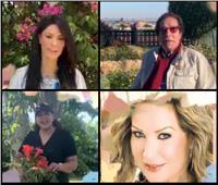 فيديو| وزراء ونجوم الفن يحتفلون بعيد ميلاد زاهي حواس