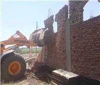 إزالة 555 حالة تعدٍ على الأراضي الزراعية وأملاك الدولة بقنا