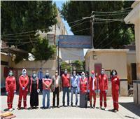 «كلمة شكرا مش كفاية».. مبادرة «الهلال الأحمر» لدعم الأطقم الطبية